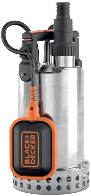 Black+Decker BXUP1100XDE Bomba sumergible, 1100 W, 230 V, Gris