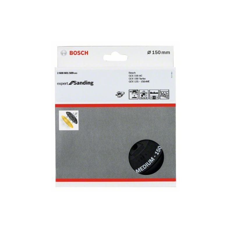 Bosch 2608601569 Plato multiperforado Bosch Dm 150mm medio