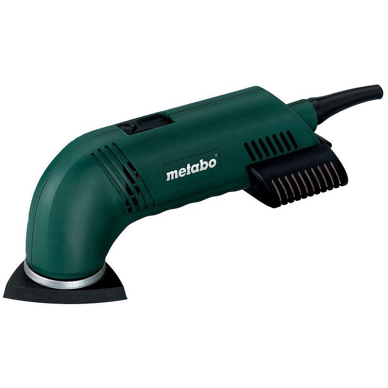 Metabo - Lijadora triangular 93 mm 280 W con carcasa - DSE 280 Intec